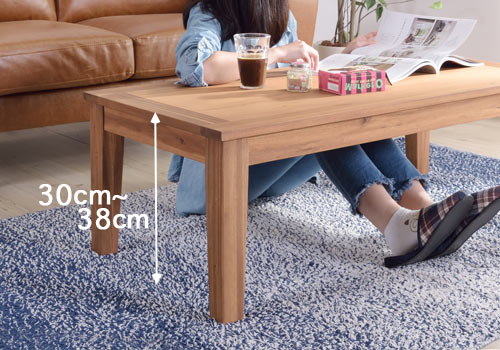 ローテーブルの高さ フロアテーブル